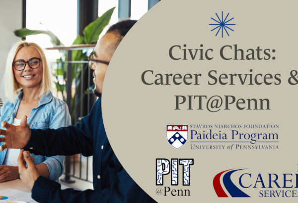 Civic Chats Career Services Graphic
